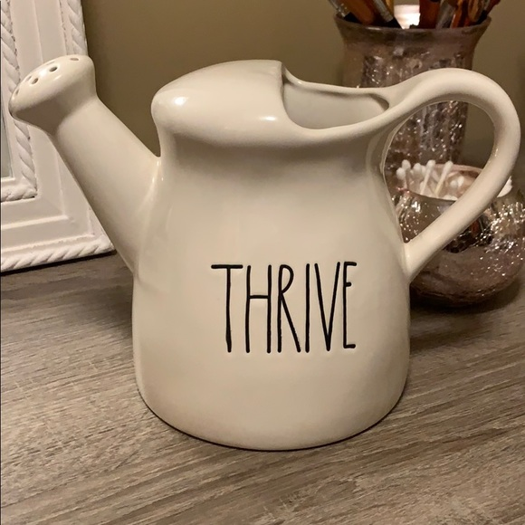 "Rae Dunn Other - Rae Dunn ""Thrive"" Watering Can"